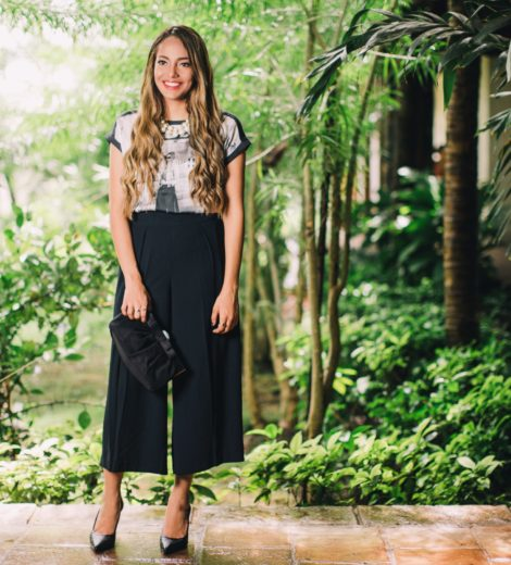 How To Rock Your Black Culottes