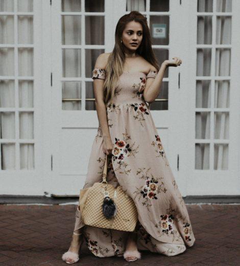 Spring Trend Alert: Floral Maxi Dress
