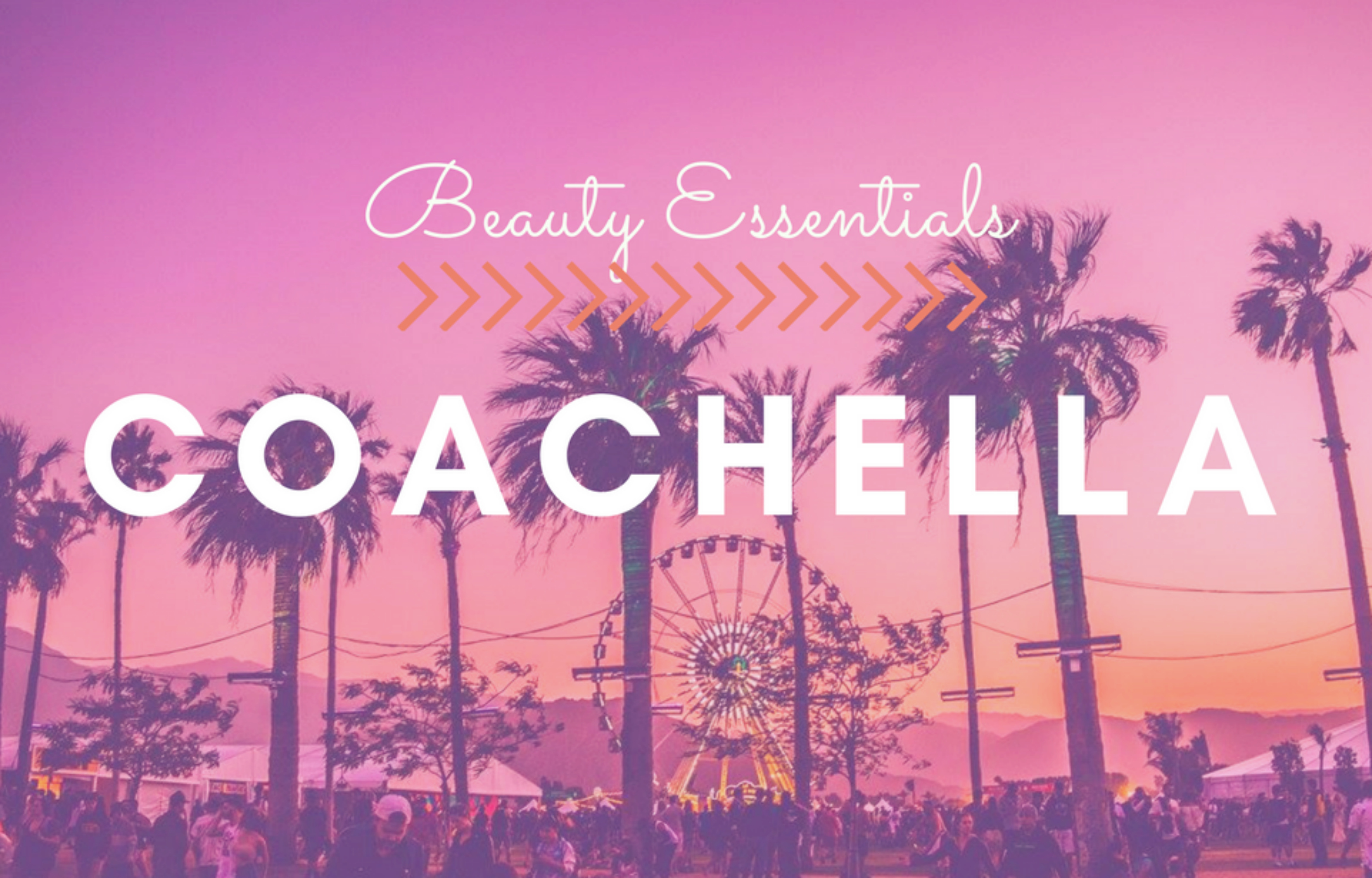 Coachella Beauty Packing List: Essentials for your crossbody