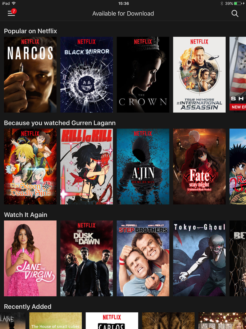 how to delete watched shows on netflix